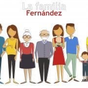 La familia Fernández